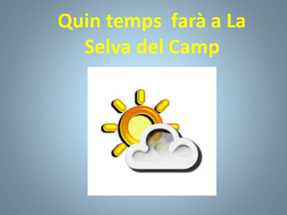 temps la selva del camp